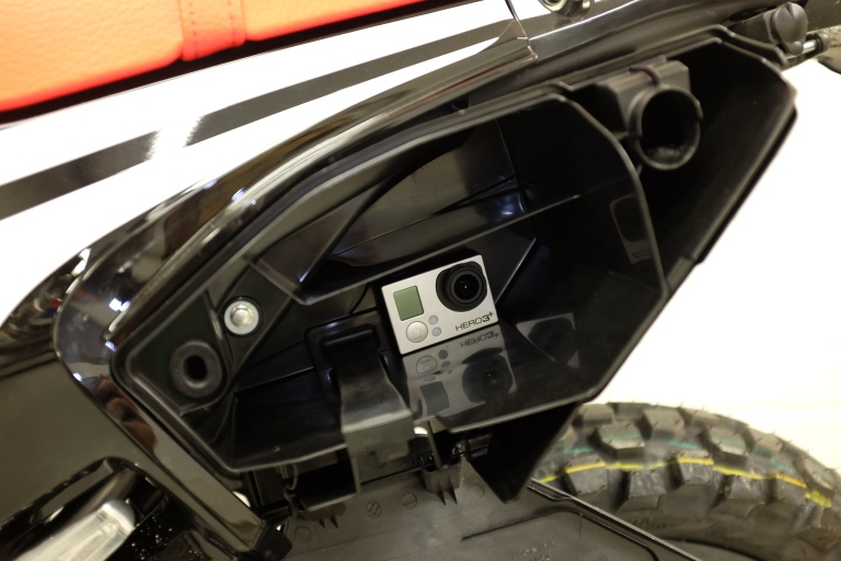 Honda CRF 250 Rally toolbox