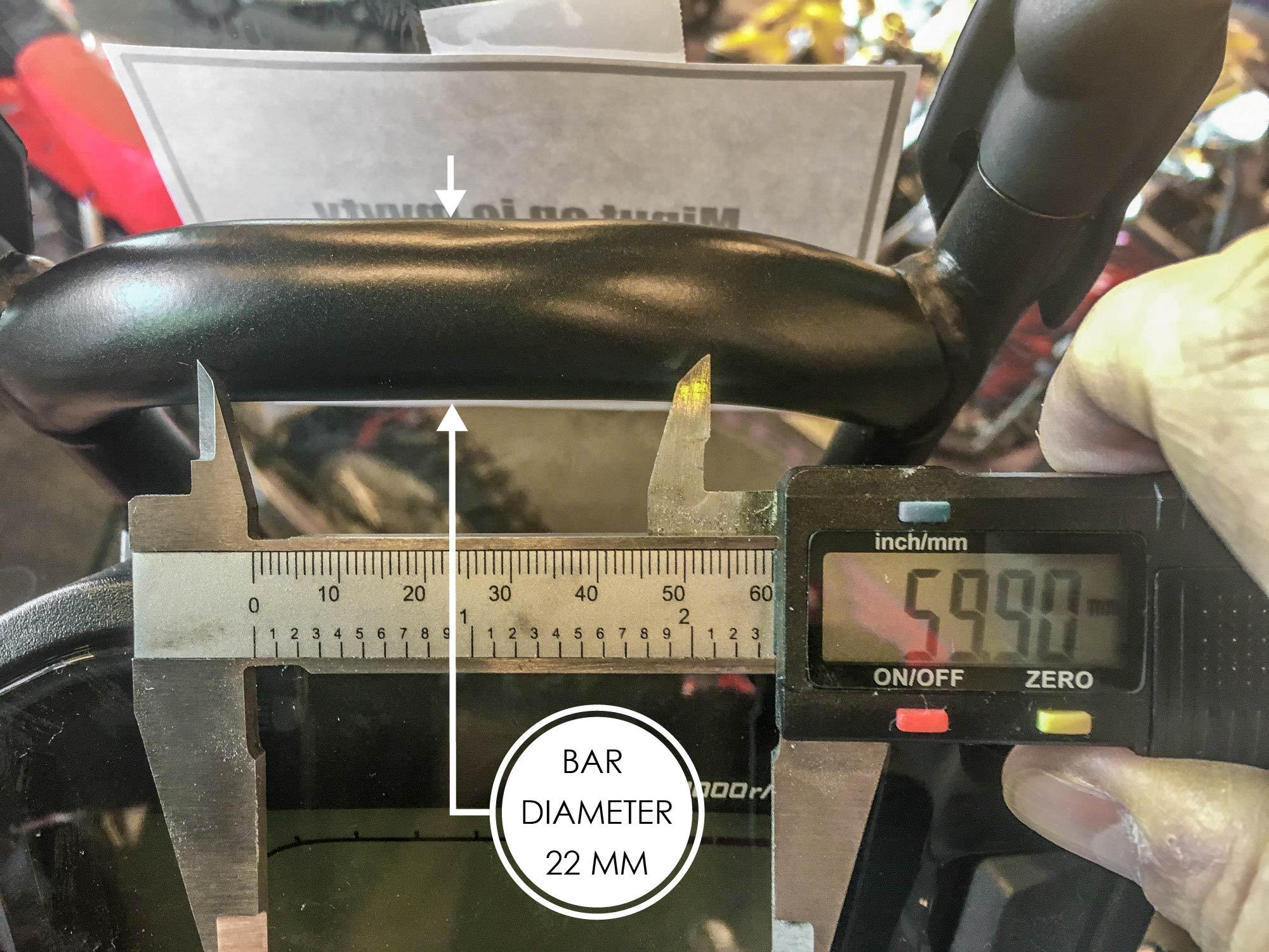 Honda CRF 250 Rally GPS / accessory bar