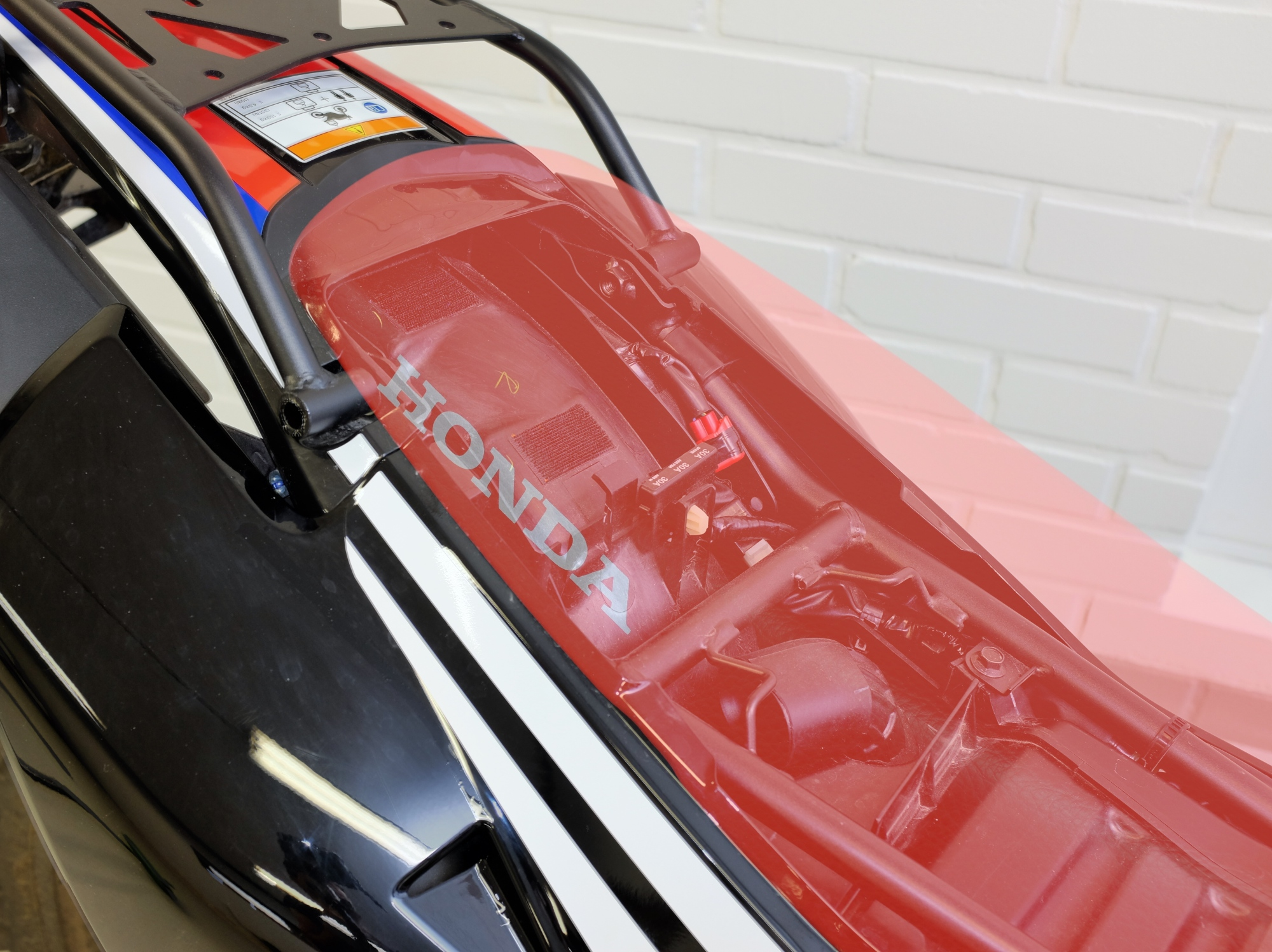 Honda 250 Rally Aux power source