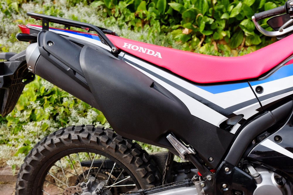 Plastidipped Honda CRF 250 Rally