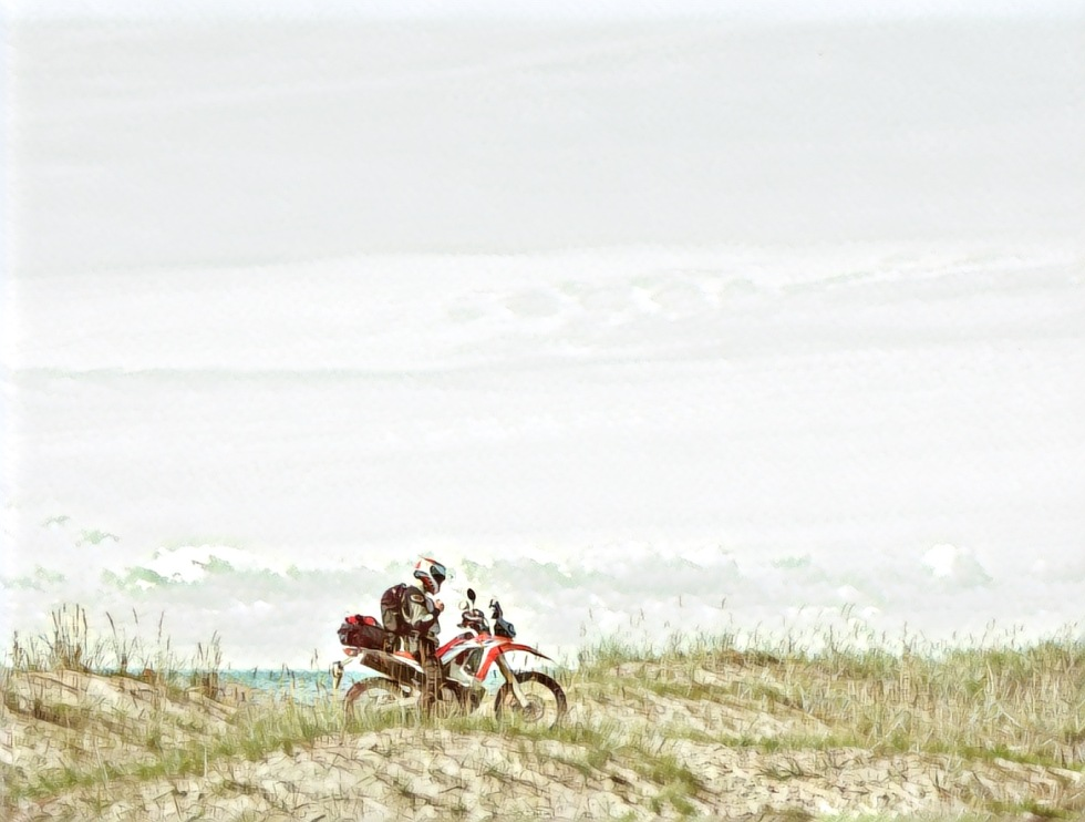Honda CRF 250 Rally in Estonia