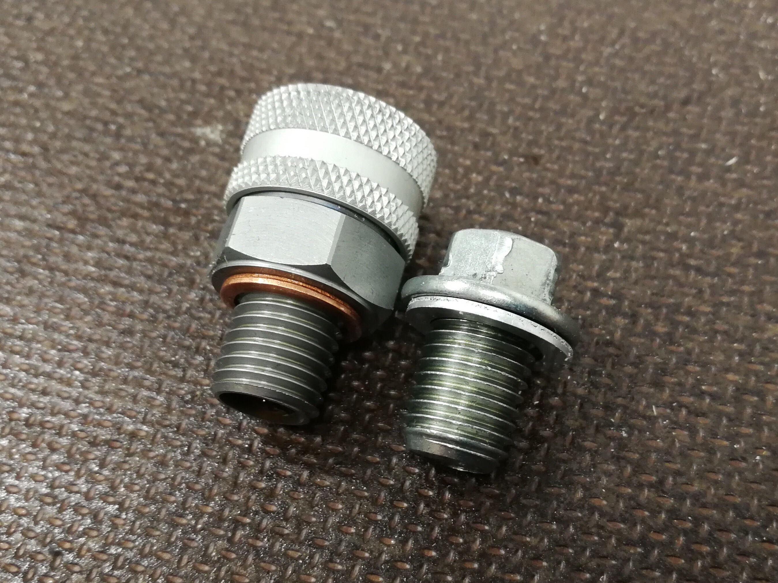 Stahlbus Oil Drain Valve Project Honda Crf 250 Rally